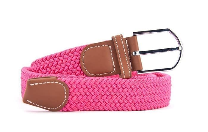 Belts From OZ - stretch pink