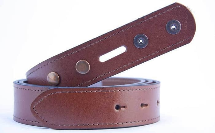 Belts From OZ - plain tan