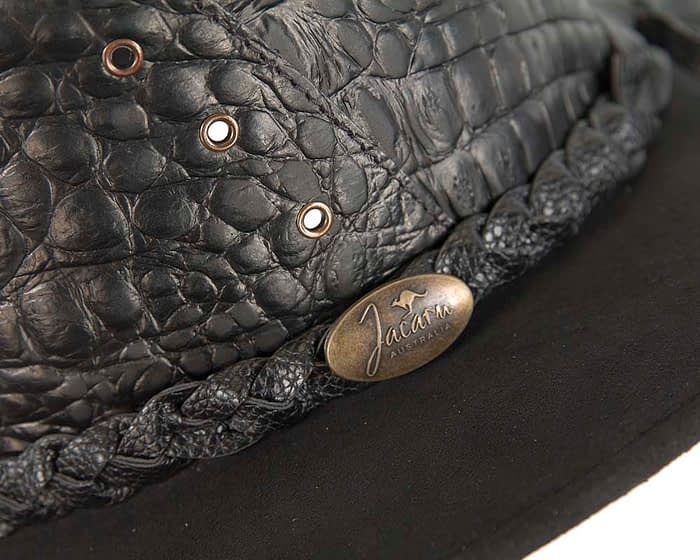 Belts From OZ - 1094 black closeup