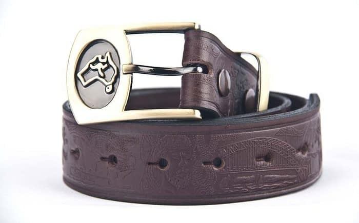 Belts From OZ - 40 AUST SYD brown