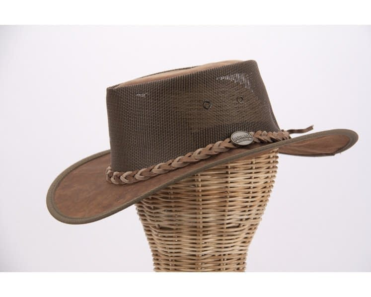 Australian Kangaroo Leather Cooler Barmah Hat buy online in Aus B1038HC