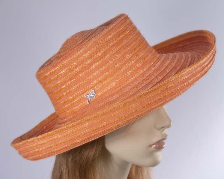 Orange Betmar casual summer beach hat buy online in Australia SP260O